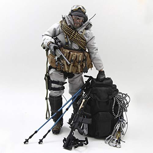 Mecotecn 1/6 Figuras Soldados, 12 Figura de Acción Soldados Femenino con Arma , Figuras Militares Conjuntos de Juegos - Navy Seal