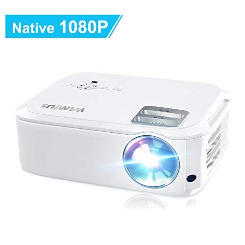 1080P Native Beamer, 4K, unterstützt Rückstrahler, digitale 4D-Einstellung