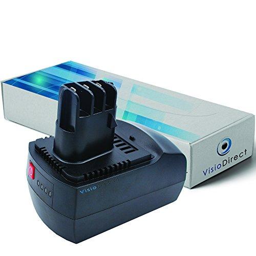 Batterie pour Metabo BSZ 14.4 perceuse visseuse 300mAh 14.4V - Visiodirect -