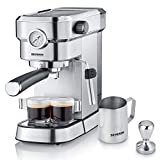 "Severin KA 5995 Espresso Maker ""Espresa Plus"", stainless steel"