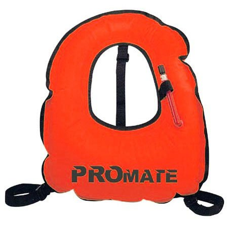 Promate Junior Snorkeling Vest Jacket for Water Sports Scuba Diving Swimming