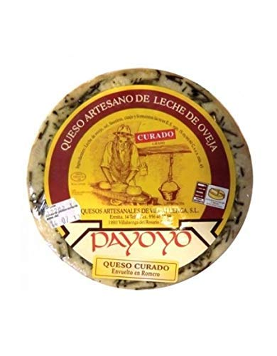Queso Payoyo Curado De Oveja Al Romero, 1/4 500g Aprox