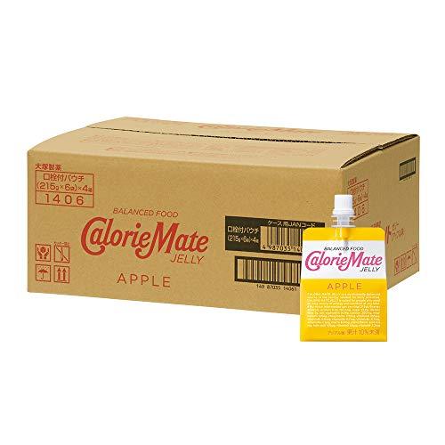 大塚製薬 カロリーメイト ゼリー アップル味 215g×24袋