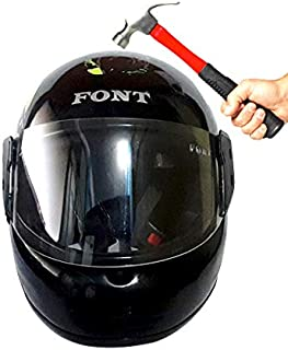 Font Full Face Helmet (Orange)
