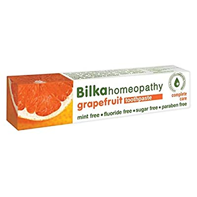 Bilka Natural toothpaste with xylitol, grapefruit taste, fluoride free, menthol free, sugar free