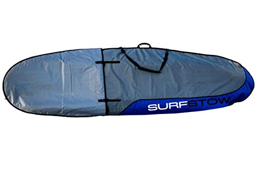 SurfStow 50043, SUP Transport Board Bag, Expandable, Exterior Paddle Pocket, Adjustable 8 feet 6 inch to 10 feet