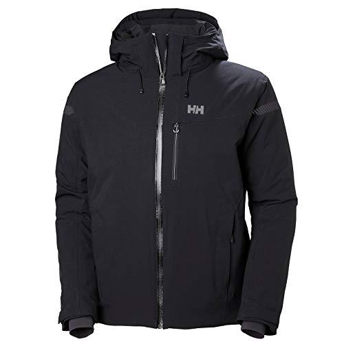 Helly-Hansen Men's Swift 4.0 Waterproof Insulated Ski Jacket, Black, Medium
