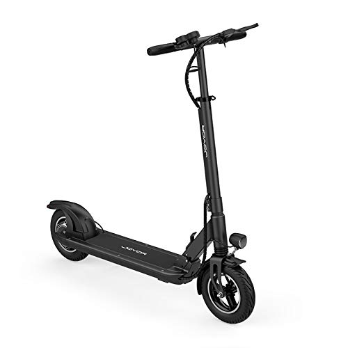 """JOYOR X5S Electric Scooter - 500W Motor 10"""" Aire Tires Up to 40.3 Miles One-Step Fold, Ultra-Lightweight Adult Electric Foldable Scooter for Commute and Travel(Black)"""
