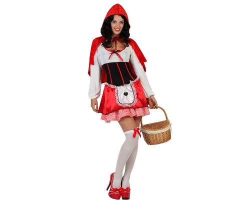 Atosa-22240 Disfraz Caperucita, color rojo, XL (22240)