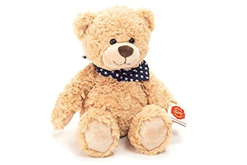 Teddy Hermann 91388 Teddy-Bär Sandfarben 30 cm, Kuscheltier, Plüschtier