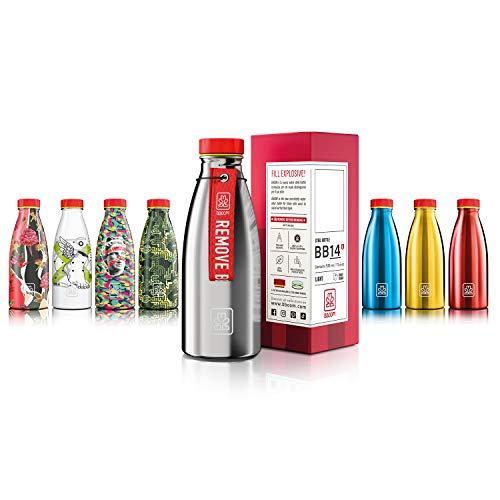 Bboom Bottiglia Acciaio Inossidabile Senza BPA | Borraccia Leggera e compatta | Ecologica e...