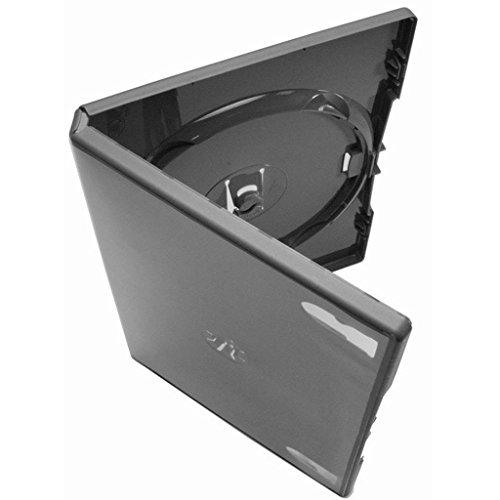 AGI AMARAY 100 x doble para cara DVD estuche negro lomo de 14 mm - 100 unidades