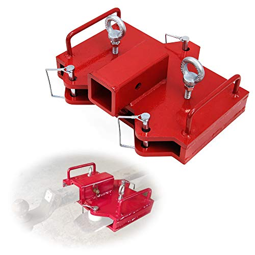 tiewards Forklift Ball Hitch Attachments 2