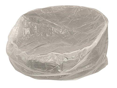 DEGAMO Abdeckhaube für Relaxinsel 190cm rund, PE transparent