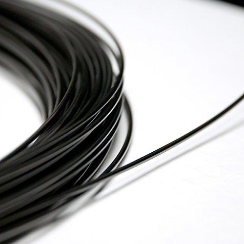 NiTi Nitinol Shape Memory pre-Trained Wire (1.0mm 40°C (18ga 104°F)) (5 feet (1.5 m))