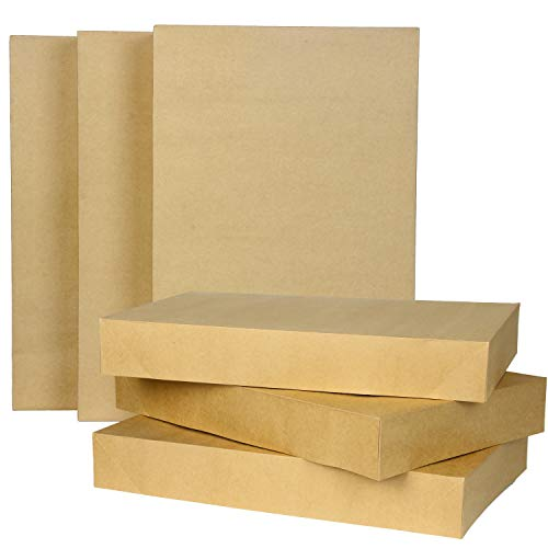 12 Pcs Kraft Brown Cardboard Boxes Set with Tissue Paper for Christmas Holiday Christmas Gift Decoration, Holiday Gift Wrapping, Decorating Parties, Weddings, Xmas Trees, Party Favors