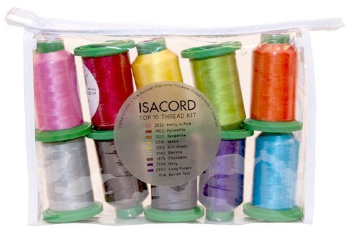 ISACORD 40-10 spool assortment by AMANN