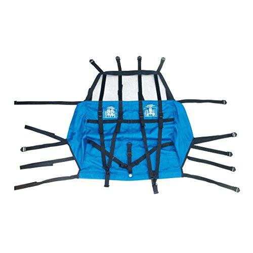 XLC Unisex– Erwachsene Duo Fahrradanhänger, blau, 1size