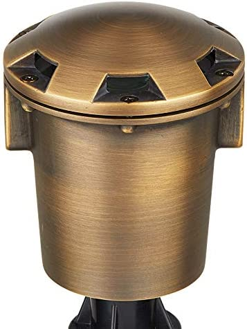 VOLT Cold Forged Brass 12V in-Grade Light Max Cheap mail order specialty store 50% OFF Turret Well Bronze To