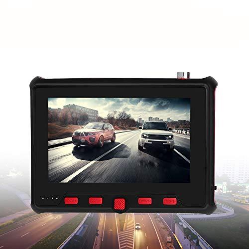 APROTII 4 Pulgadas CCTV Tester Monitor TFT-LCD 800RGB ×480 Resolución PTZ Control 8MP Cámara Portátil Probador AHD CVBS Tester UTC OSD Control 12V Salida de Potencia
