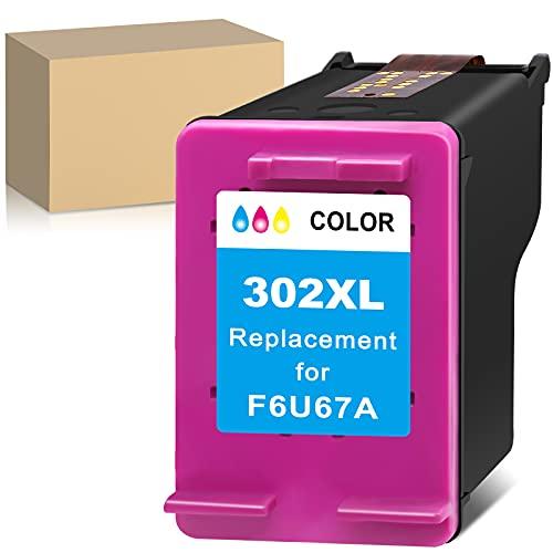 Cartuccia d'inchiostro rigenerata per HP 302XL 302 XL (1 Tri-Colour) compatibile con DeskJet 2130 3636 3634 OfficeJet 3830 5232 3831 5220 3833 Envy 4525 4527 4520