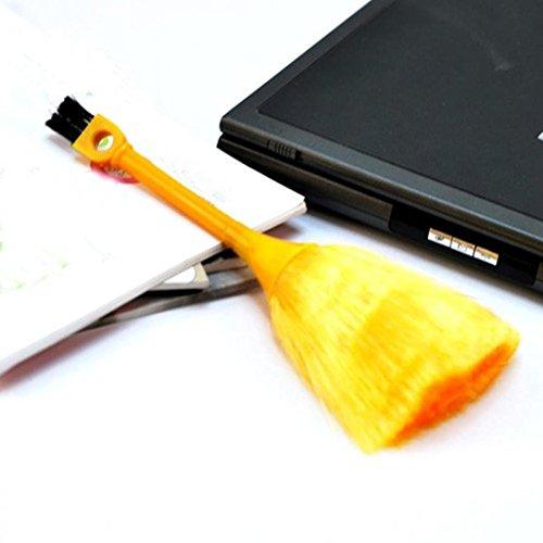hunpta Mini Desktop Tastatur Reinigung Scanner antistatisch Fahrzeug Puderpinsel