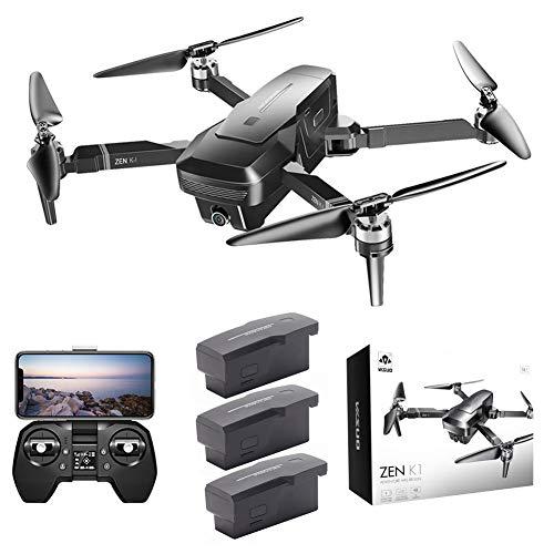 BRANDNEWS Tiandrive VISUO Zen K1 GPS 4K 5G Dual-Kamera-Drohne, 50-Fach Zoom-Drohne, Multifunktionale Faltbare Luftbildkamera Fitting