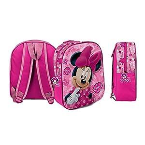 418qqP9 4pL. SS300  - Star Disney 54690 Minnie Art - Mochilas impresas en 3D (26,5 x 10 x 31 cm)