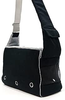 Dogo Boxy Messenger Bag - Black