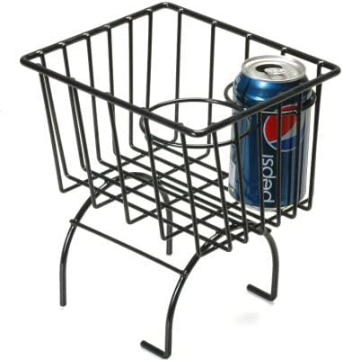 Pacific Customs Black Retro Looking Basket Cup Wire Storage Hold Free Miami Mall shipping anywhere in the nation