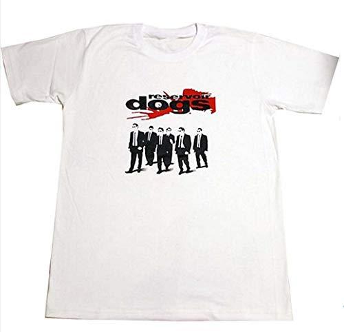 TOPOI Reservoir Dogs/レザボア・ドッグス プリントTシャツ ムービーTシャツ ホワイト ズは短めワンピースにとしても人気