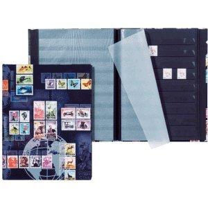 Pagna - Briefmarkenalben in schwarz