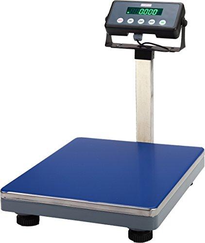 DZD DJ-KL 30kg/1g-75kg/2g-150kg/5g-300kg/10g Plattformwaagen mit Bluetooth, Netz- & Batteriebetrieb, Produziert von G&G: DJ75KL
