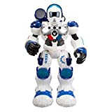 Xtrem Bots - Patrol Policía, Robot Juguete Teledirigido, Robots para Niños, 50 Acciones Programables, Función Espía,...