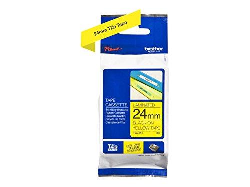Brother Original P-touch Schriftband TZe-651 (kompatibel mit Brother P-touch P700,- 2430, -D600, -9700PC, -P750W)