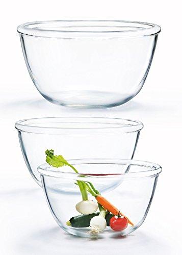 Luminarc Cocoon Bowls, 9', Clear