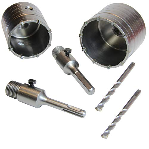 WorkPlus Bohrkronen Set 65 und 80mm