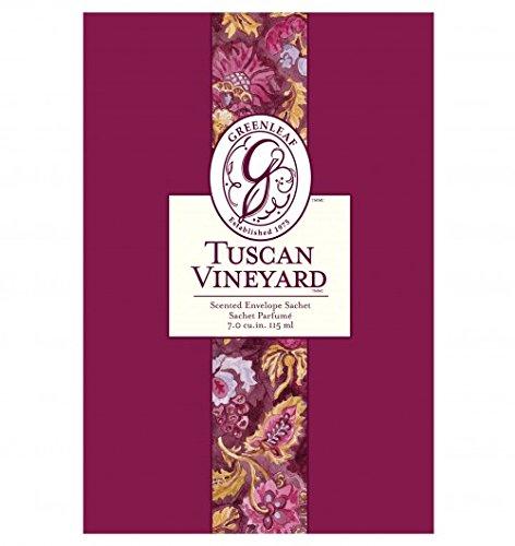 6Stück große Tuscan Vineyard Duftsachet