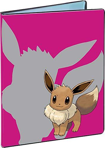 Asmodee-84919 Pokémon Evoli Cahier Range-Cartes, 84919