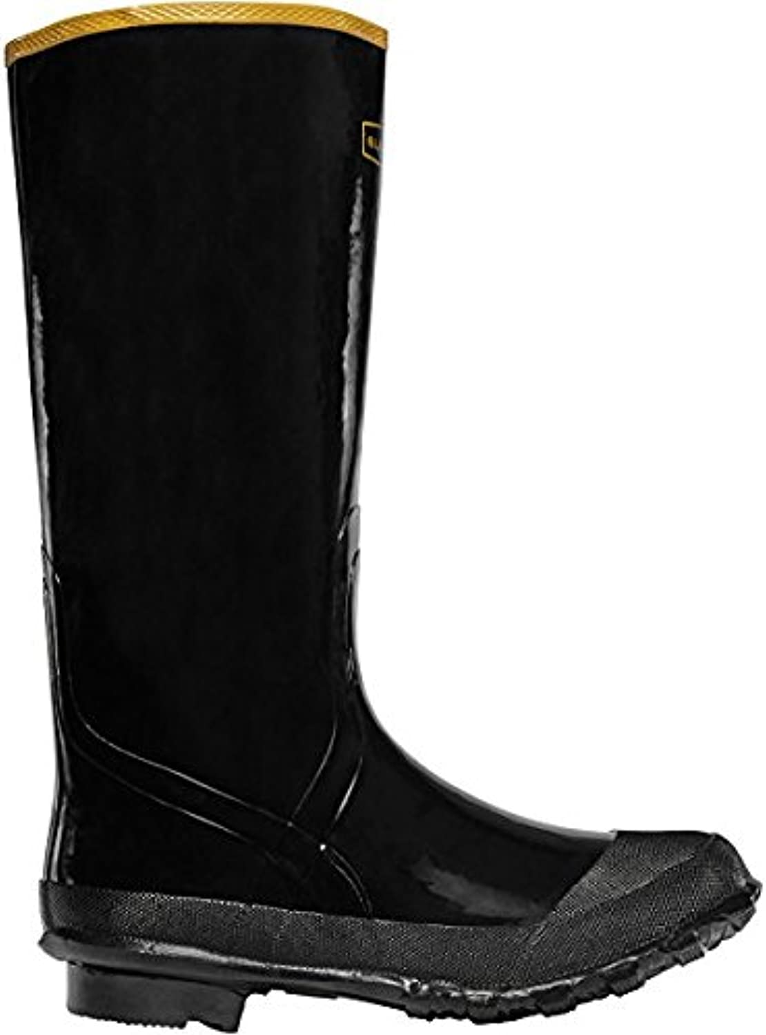 LACROSSE Economy Knee Boot 16  Black (24009033)   Waterproof   Insulated Modern Comfortable Hunting Combat Boot Best for Mud, Snow