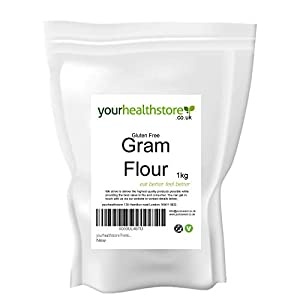 Yourhealthstore - Harina de garbanzo, sin gluten, 1 kg