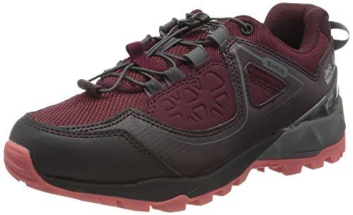 Jack Wolfskin Cascade Hike XT Texapore Low W, Chaussures de Randonnée Basses Femme, Rouge (Burgundy/Pink 2826), 35.5 EU