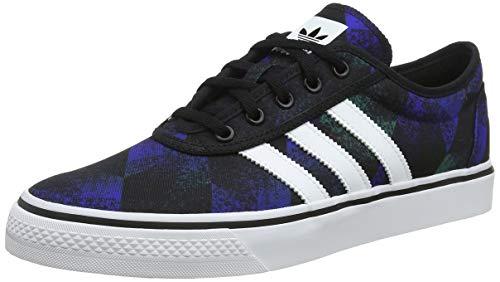 adidas Adi-Ease, Zapatillas de Skateboard Unisex Adulto, Negro (Core Black/FTWR White/Gum4 Core Black/FTWR White/Gum4), 44 2/3 EU