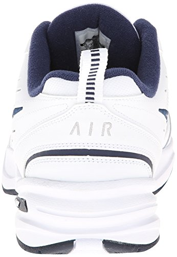 Nike Air Monarch Iv, Chaussures de Fitness Homme, Blanc White Metallic Silver 102, 43 EU