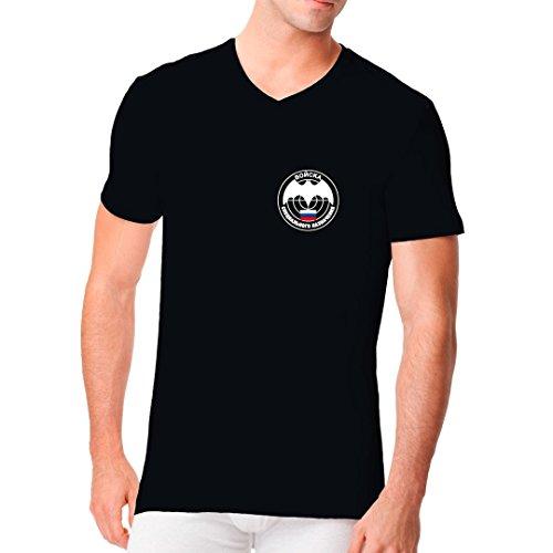 Im-Shirt Fun Männer V-Neck Speznas Spezialkommando by Schwarz XL