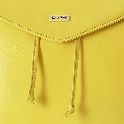 Amazon Brand - Eden & Ivy Women's Backpack (Mustard)