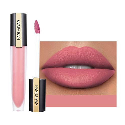 Saws Esmalte De Brillo De Labios Mate Impermeable A Prueba De Agua De Larga Duración Lipstick Lipstick Cosmetic 7G 10# 0322