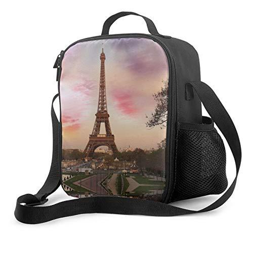 PYFXSALA Best Travel Unisex Multi-Purpose Lunch Bag,Reusable Insulated Cooler Lunch Box,Leakproof Adjustable Shoulder Strap Portable Food Tote Bag