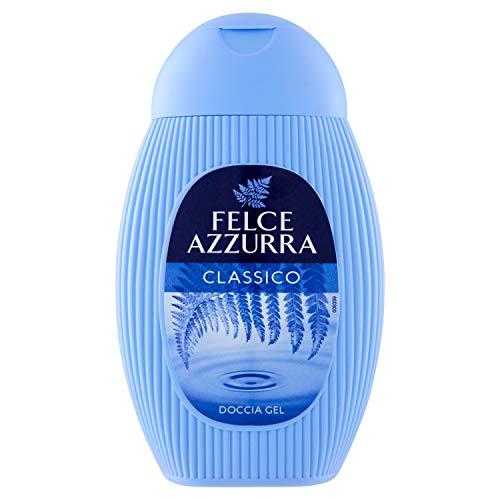Felce Azzurra Duschgel Classico - reichhaltige samtweiche Duschformel - mit ätherischen Ölen versetzt - feuchtigkeitsspendend - 3er Pack (3x 250 ml)