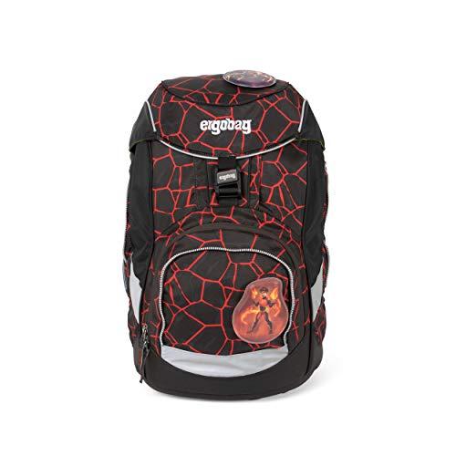 ergobag pack Set - ergonomischer Schulrucksack, Set 6-teilig - SupBärheld - Braun